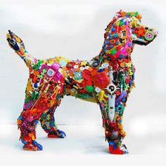 ChumleyScobey Art Room: Recycled Toy Sculptures/Found Object Sculptures/Contemporary Sculptors