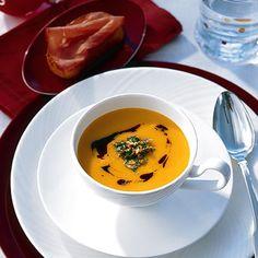 Kürbis-Kartoffelsuppe mit Orangen-Gremolata Rezept - ESSEN & TRINKEN