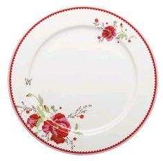 Room Seven - Dinner Plate, Poppy