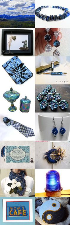 Blue Skies by Whimsy on Etsy--Pinned with TreasuryPin.com