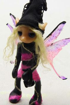 Ooak Handmade Polymer Clay Fairy Fairie by Woodlandkreatures, $40.00  See their online store here:  http://www.etsy.com/shop/Woodlandkreatures?ref=seller_info