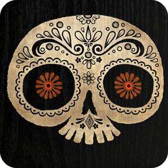 Dia de los Muertos. Sugar Skull.