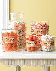 Halloween Candy Jar Free Printables