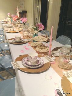 Country Chic Tea Party.