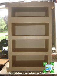 Simone Cartonne, Mes créations de meubles en carton
