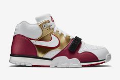 on sale 0ead0 b2bd3 Nike Air Trainer 1 Mid Premium u201cJerry Riceu201d