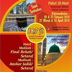 Tour dan Travel Haji khusus dan UMROH AlHijaz Indowisata  Penyelenggara UMROH dan HAJI KHUSUS Resmi terdaftar di Departemen Agama Republik Indonesia  Untuk Booking Seat silahkan hubungi : 0895.3868.94755