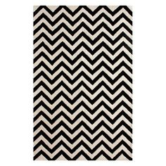 Stylishly anchor your living room or master suite with this artfully hand-tufted wool rug, showcasing a bold chevron motif in black and white. Chevron Area Rugs, Textiles, Black Chevron, Rugs Usa, Contemporary Area Rugs, Hand Tufted Rugs, My Living Room, Wool Area Rugs, Wool Rugs