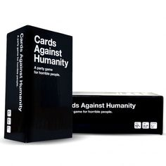 Cards Against Humanity is a party game for horrible people. Unlike most of the party games you've played before, Cards Against Humanity is as despicable and awkward as you and your friends. The game is simple. Each round, one player asks a question from