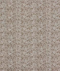 Premier Prints Cameron Italian Brown Drew Fabric