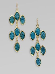quartz on these earrings is amazing.  love the colour!