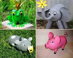 Recycled animals