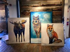 Park City Fine Art & Prospect Gallery • Park City, UT Animal 2, Park City, Galleries, Moose Art, Original Paintings, Art Gallery, My Arts, Creatures, Fine Art