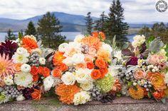 Flowers by Jennifer Ela Neal, venue Blair Hill Inn, Greenville, Maine; photography http://www.doublehphotos.com/.  Destination weddings.