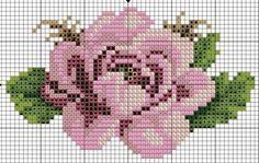 """Delicado Cantinho: Gráficos Ponto Cruz """"Flores"""" [   """"cross stitch rose [ """"cross"""" ] #<br/> # #Crossstitch,<br/> # #Charts,<br/> # #Virtue,<br/> # #Cross #Stitching,<br/> # #Hobbies,<br/> # #Delicate #Corner,<br/> # #Cross #Stitch,<br/> # #Embroidery,<br/> # #Cross #Stitch<br/>"""