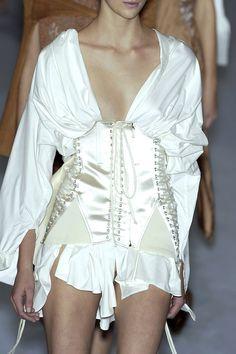 Jean Paul Gaultier at Paris Fashion Week Spring 2004 - Details Runway Photos