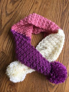 Skein and Hook: Free Crochet Pattern: The Greene Pom Pom Scarf will look great in black and gold!