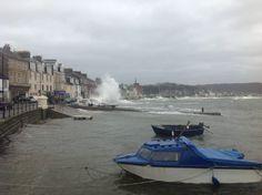 Millport storm