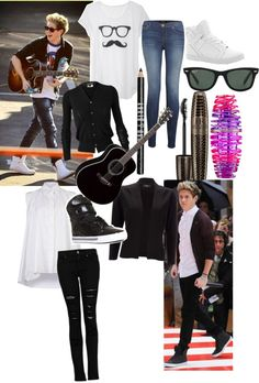 """""""Niall Horan-inspired outfit"""" by kimraylene7481 ❤ liked on Polyvore"""