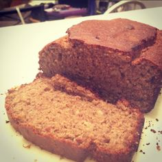 Healthy Peanut Butter Banana Bread!