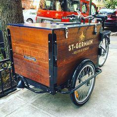 Hand-Built Wood Panel Vending Tricycles Carritos De Comida a9ab2db7b30e4