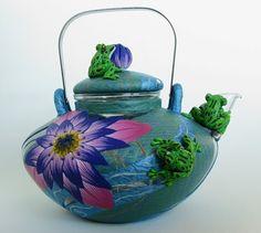 Необычные заварочные чайники – декор полимерной глиной. Обсуждение на LiveInternet - Российский Сервис Онлайн-Дневников