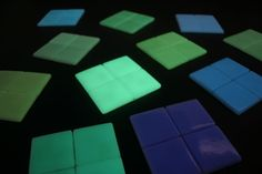 Photoluminiscent glass