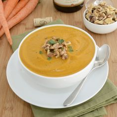 Sweet Pea's Kitchen » Cream of Roasted Carrot Soup