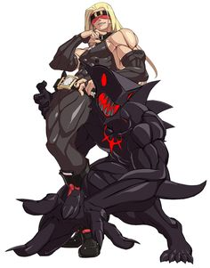 Zato-1 from Guilty Gear Xrd -Sign-