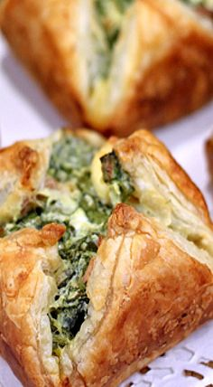 Spinach and Bacon Cheese Puffs ❊