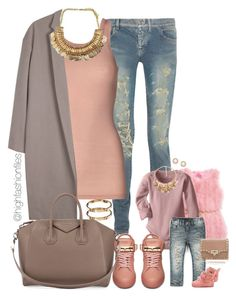 """""""Mommy/Daughter look"""" by highfashionfiles ❤ liked on Polyvore featuring Yves Saint Laurent, By Malene Birger, Blumarine, Organic by John Patrick, Ryder, BUSCEMI, Givenchy, Forever 21, ASOS and Valentino"""