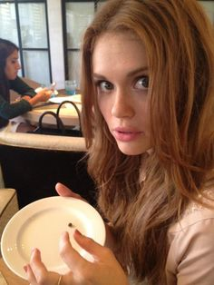 holland roden hair color