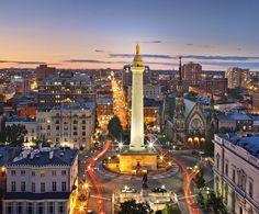 Mount Vernon Square, Baltimore by Greg Pease