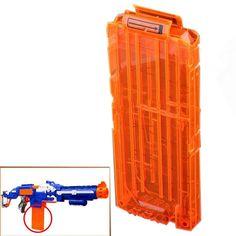 オレンジ12ダーツクイックリロードクリップシステムダーツホルダー用玩具銃用ナーフn-ストライクblasterおもちゃギフト