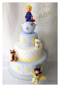 bolo pequeno príncipe