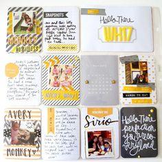 Project Life: Week 17 « Hello. I'm a Paper Addict.  6-14-13