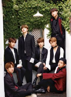 CREA × BTS ステキーーーーー!!! #bts #방탄소년단 #防弾少年団