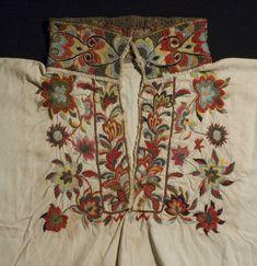 Embroidery Art, Machine Embroidery, Digital Museum, Folklore, Wearable Art, Color Mixing, Needlework, Scandinavian, Ethnic