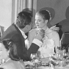 prince rainier and grace kelly | yehyehgrace (A candid Prince Rainier & Grace Kelly)