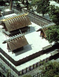 The Ise Shrine, Mie prefecture, Japan. - Holiest Shrine. Wabi Sabi (reconstruction every 20yrs)