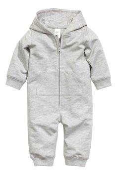Sweatshirt all-in-one suit - Grey - | H&M GB 1