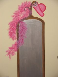 Painted in a clients little girls room