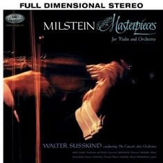 Nathan+Milstein+Masterpieces+For+Violin+And+Orchestra+LP+200+Gram+Vinyl+Analogue+Productions+QRP+USA+-+Vinyl+Gourmet