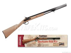Traditions™ - Deerhunter - Black Powder Rifle - Parts Kit Hobby Kits, Hand Guns, Survival, Army, Man Stuff, Traditional, Knife Making, Percussion, Rifles