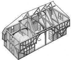 Bestandteile eines fachwerkhauses Fachwerkwand bezeichnungen