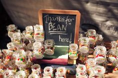 Jelly beans favors.