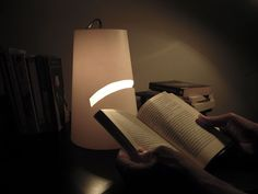 HESSE LAMP - A tribute to reading. Lighting, Reading, Projects, Home Decor, Log Projects, Homemade Home Decor, Word Reading, The Reader, Lights