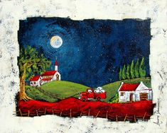Artwork of Anette Dannhauser exhibited at Robertson Art Gallery, specialists in the selling of original art of top South African Artists. South African Artists, Acrylic Painting Techniques, Country Art, Naive Art, Aboriginal Art, Fabric Painting, Illustrations, Art World, Home Art