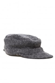 7 anniversary wool hat with shade