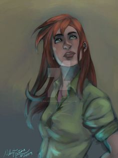 oC: painted Jess by NalaFontaine on DeviantArt